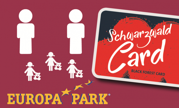 SchwarzwaldCard incl. 1 Day Europa-Park (Family)