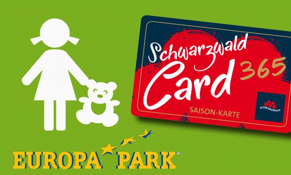 SchwarzwaldCard 365 inkl. 1 Tag Europa-Park (Kind)