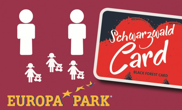 SchwarzwaldCard inkl. 1 Tag Europa-Park (Familie)